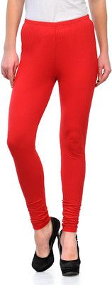 3f4e33b6c6dd18 Ffu Women's Leggings - Buy Red Ffu Women's Leggings Online at Best Prices  in India @