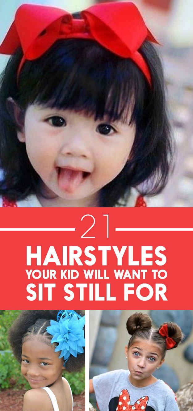 quick kid hairstyles for extremely busy parents kid hairstyles