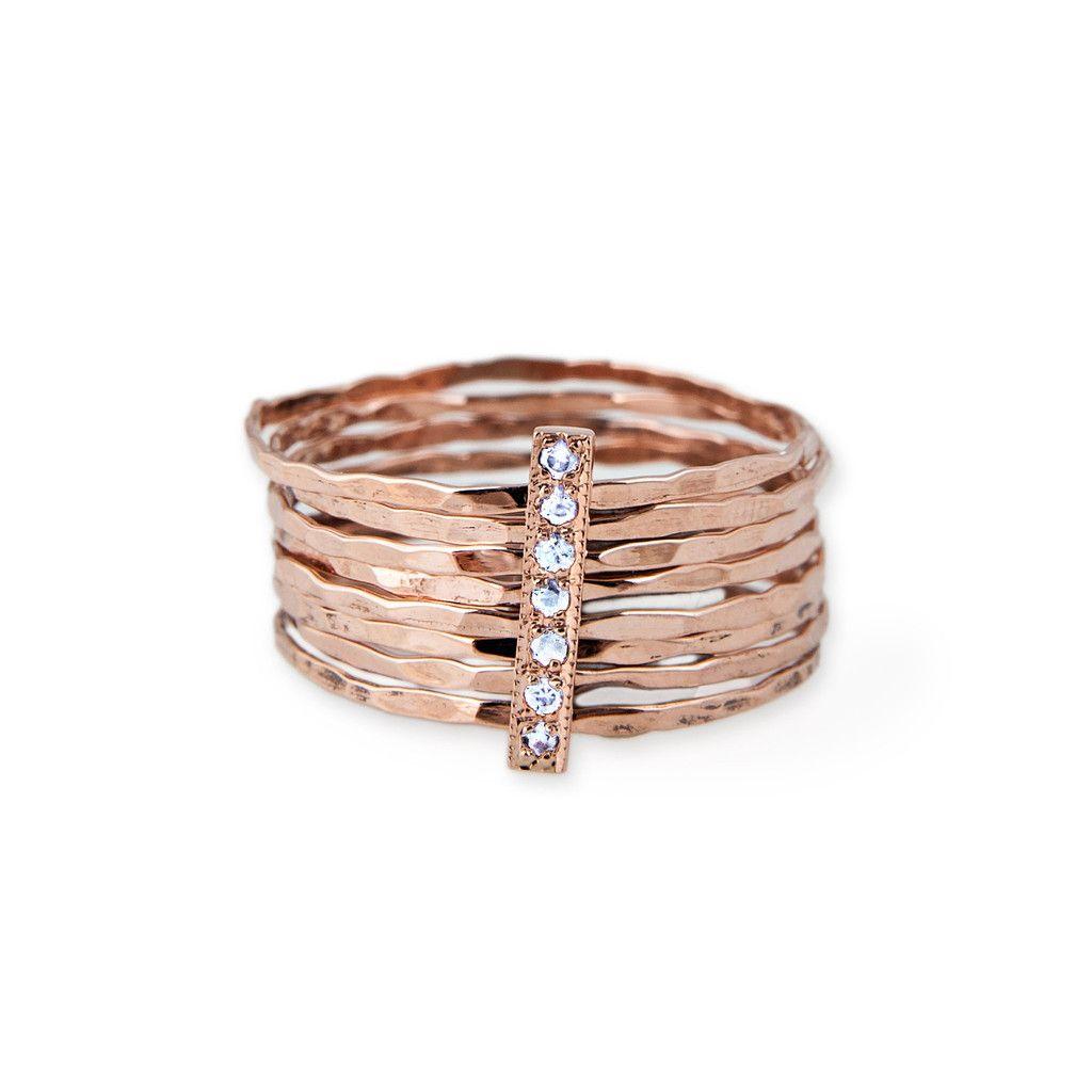 Diamond bar multi waif ring diamond bar jacquie aiche