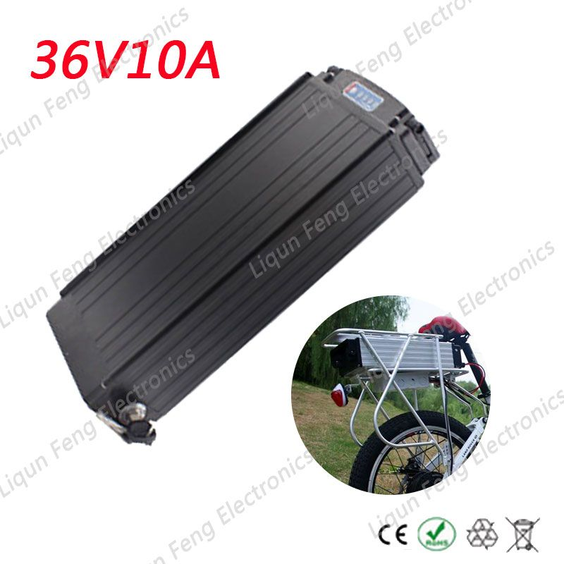 Free Shipping 36v 10ah 500w Motor 18650 Rechargeable Battery