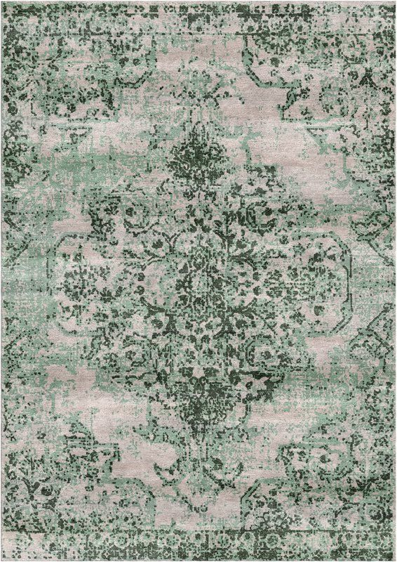 Aliza Handloom Green Area Rug Area rugs, Rugs on carpet