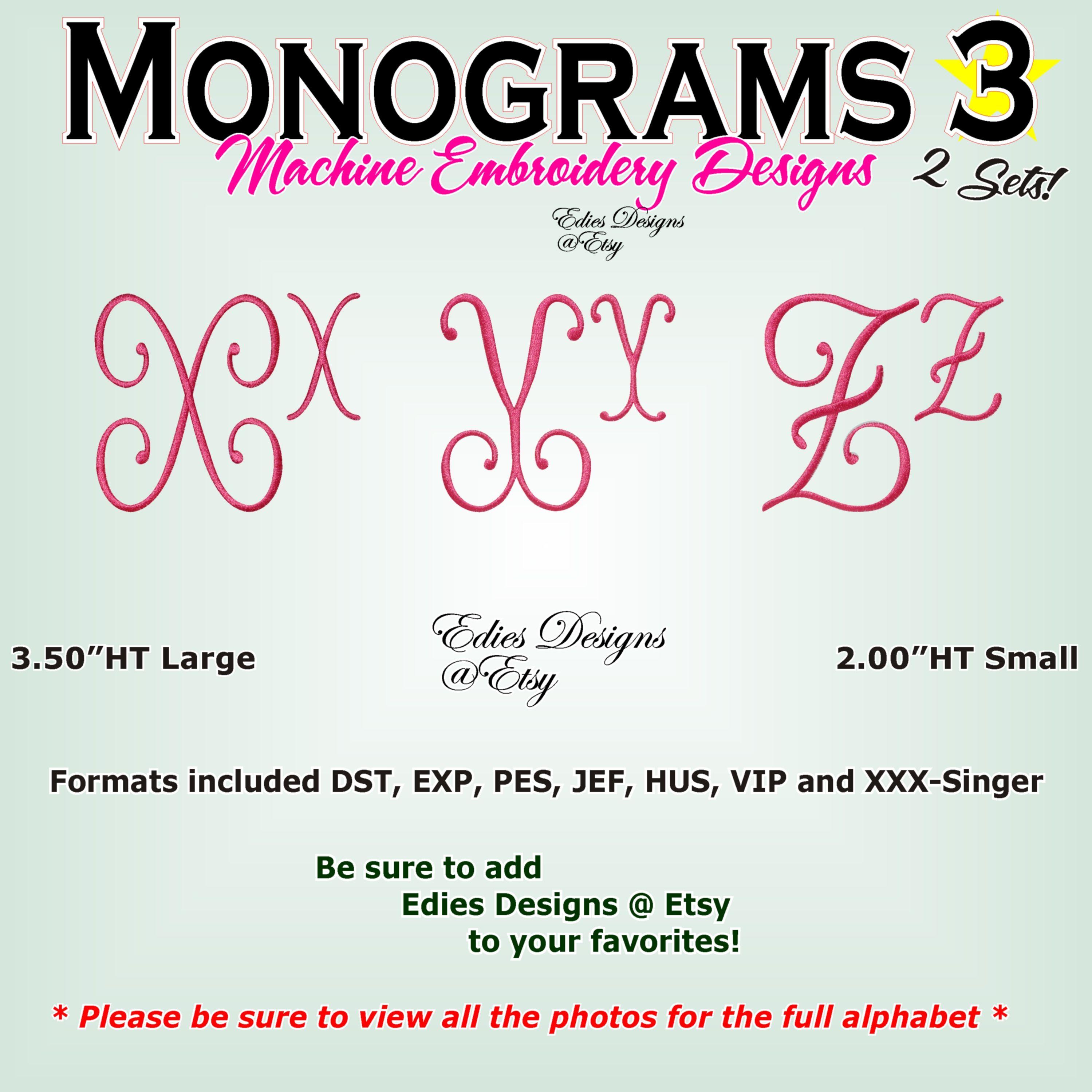 e407946d8dc8c We love just love a smooth satin stitch monogram