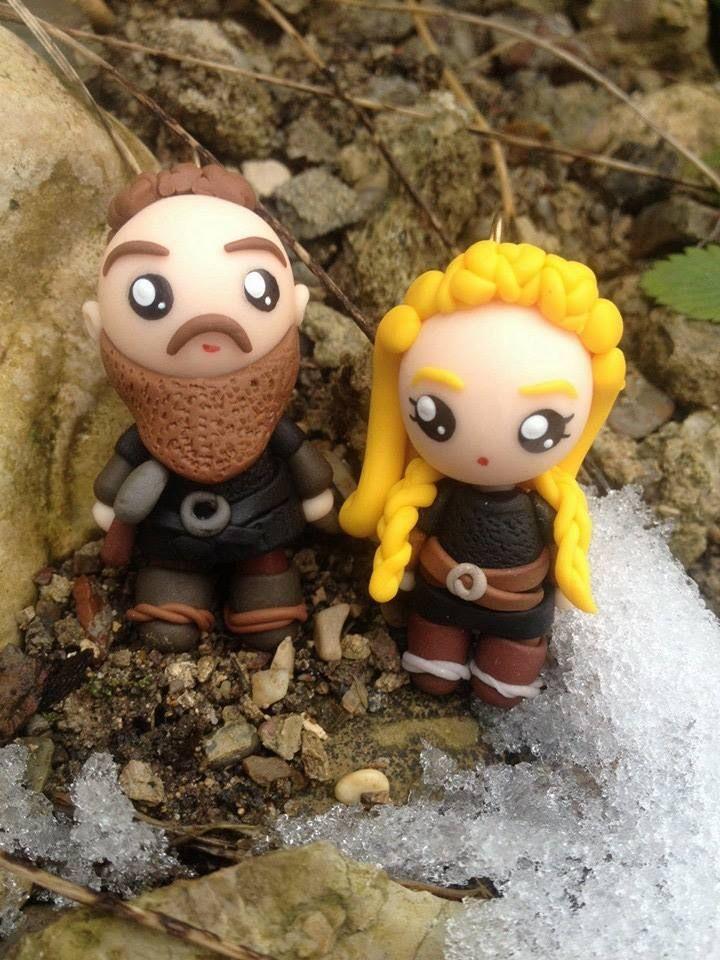 Ragnar & Lagertha dolls