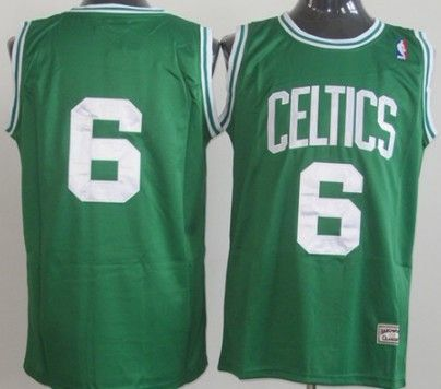 new product 2b5fc 28e92 Bill Russell Green Throwback Authentic Jersey | good jerseys ...