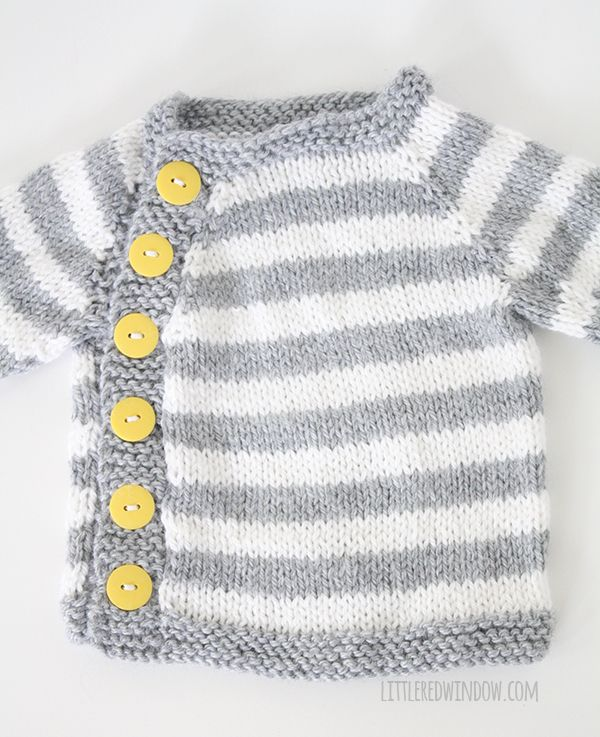 My Favorite Sweater Knitting Patterns for Babies | Cosas pequeñas ...