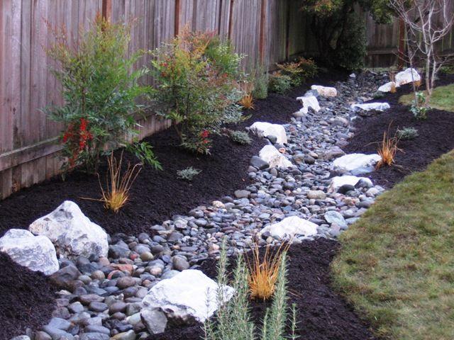 drainage trench stream