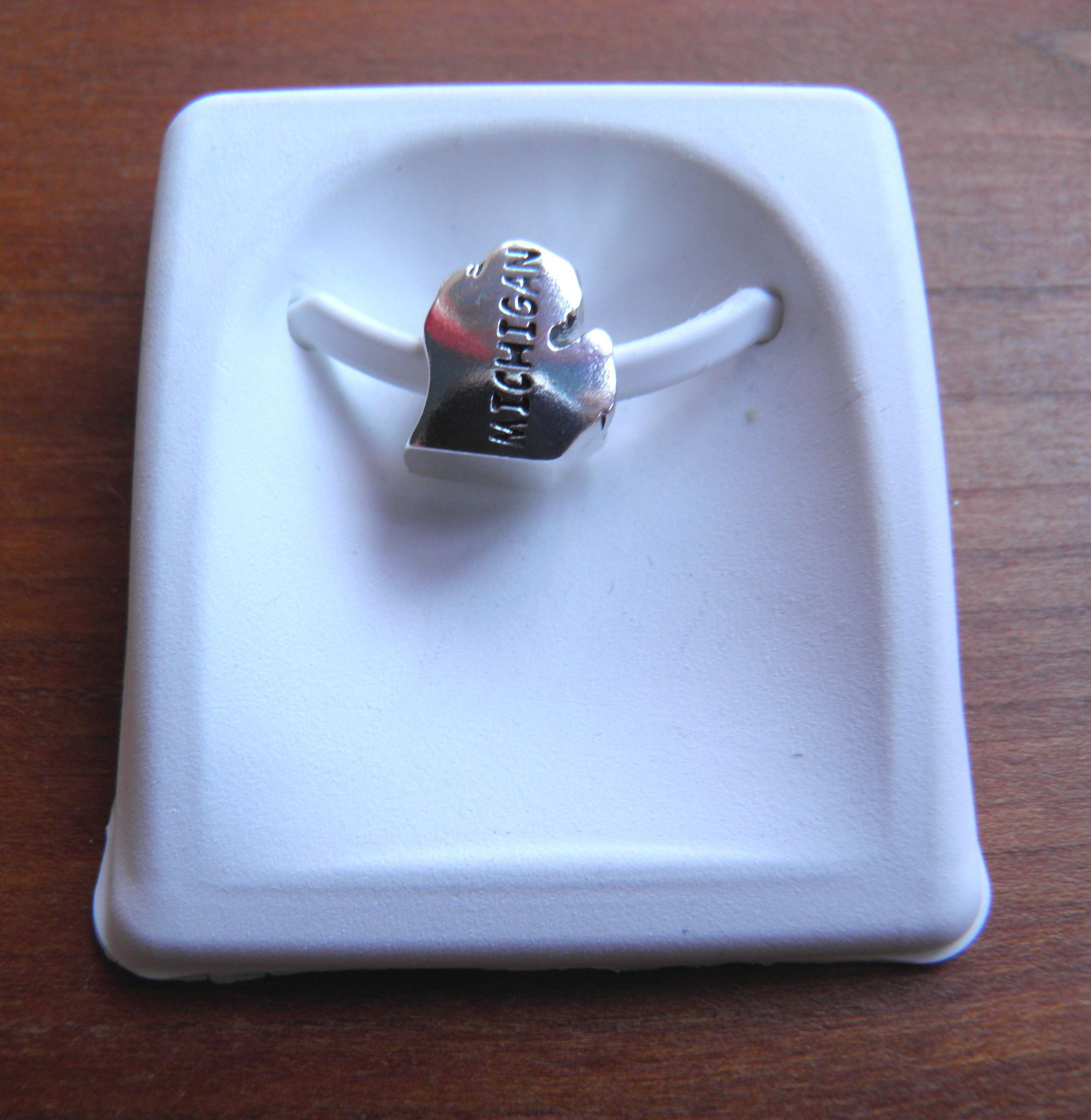 Michigan Mitten Sterling Bead For Pandora And Other Bracelets Wrist Candy Pandora Pandora Charm Bracelet
