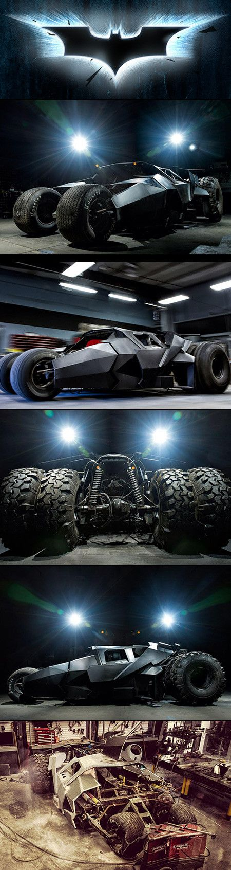Here is an incredible street legal Batman Tumbler by Parker Brother Concepts.