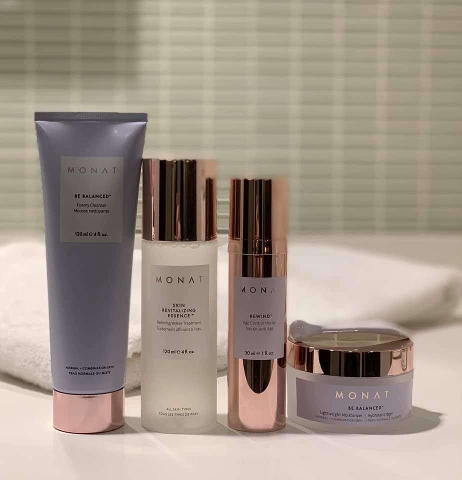 #Monat Be Balanced Skincare Line