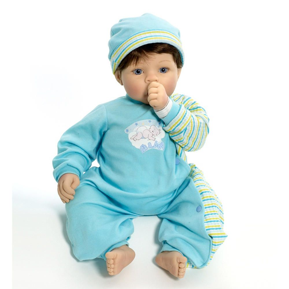 Cuddle Babies Mommy S Delight 19 Inch Boy Doll Brown