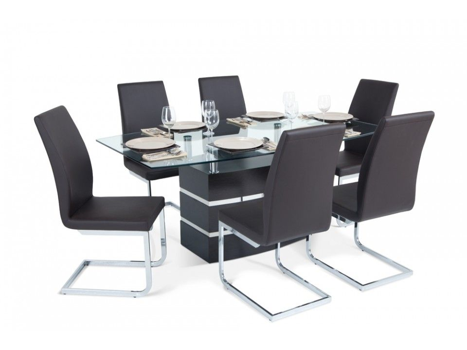 $799 orbit 7 piece dining room set | dining room furniture | bob's
