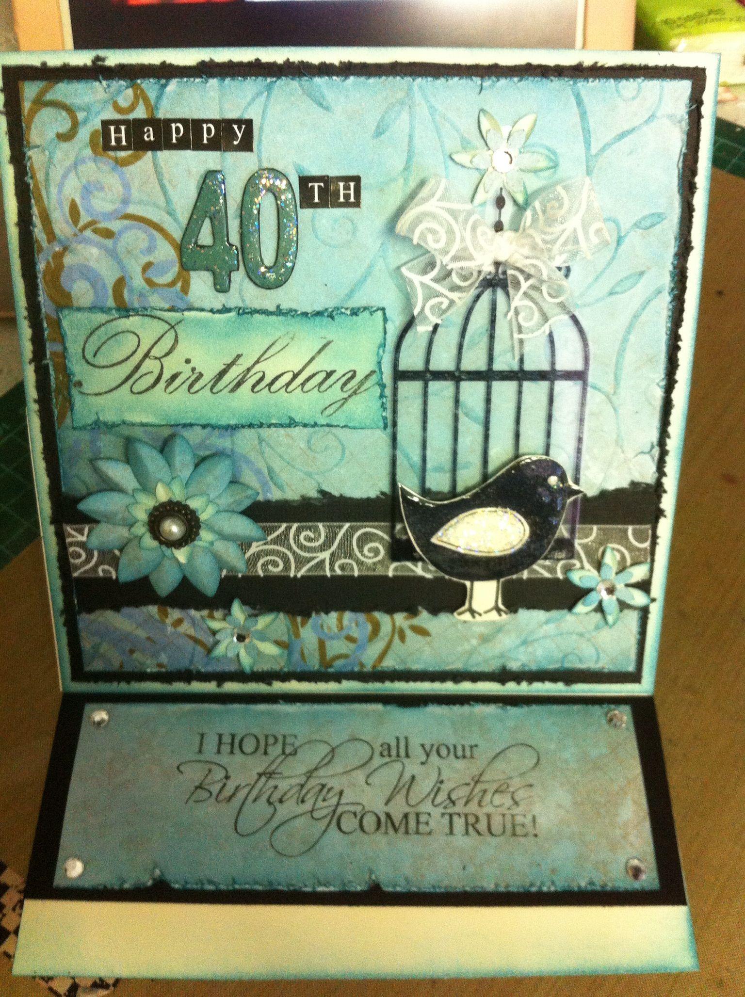 Kaszazz Card Making Ideas Part - 44: All Kaszazz Products Birthday Card