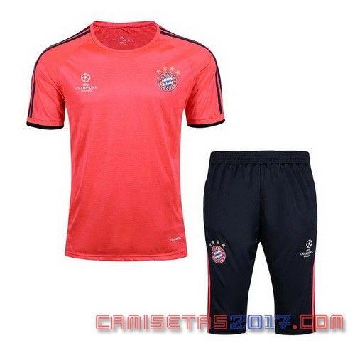 camiseta entrenamiento Bayern Munich 2016 2017 Naranja  0e2f681ca91e4