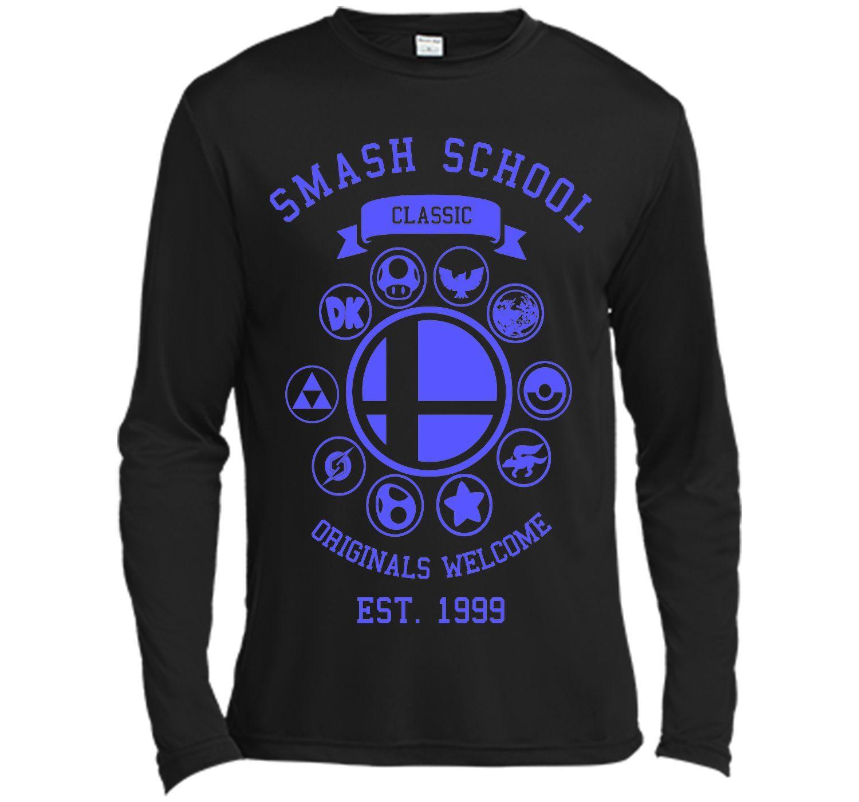 Smash School Classic (Blue) T-Shirt
