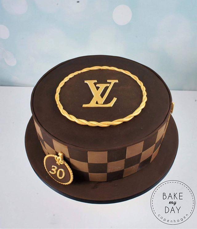 Louis vuitton cake lv cake geburtstagskuchen for Designer kuchen