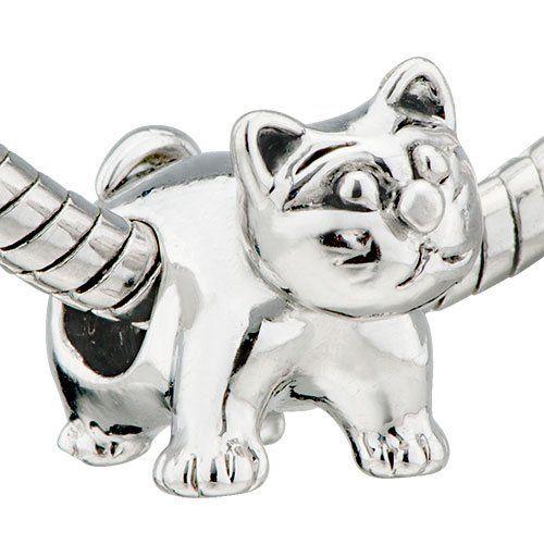 Pugster Cute Cat Pugster Bead Fits Pandora Beads Charm Bracelet