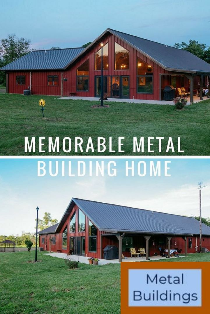 Worldwide Steel Buildings: Metal & Steel Buildings & Barndominiums and Metal Buildings Farmhouse. #barndominiumideas