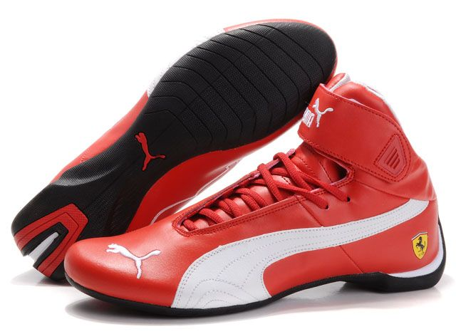 1a93e650b Puma High Tops Shoes Red/White | Tendência style tênis em 2019 ...