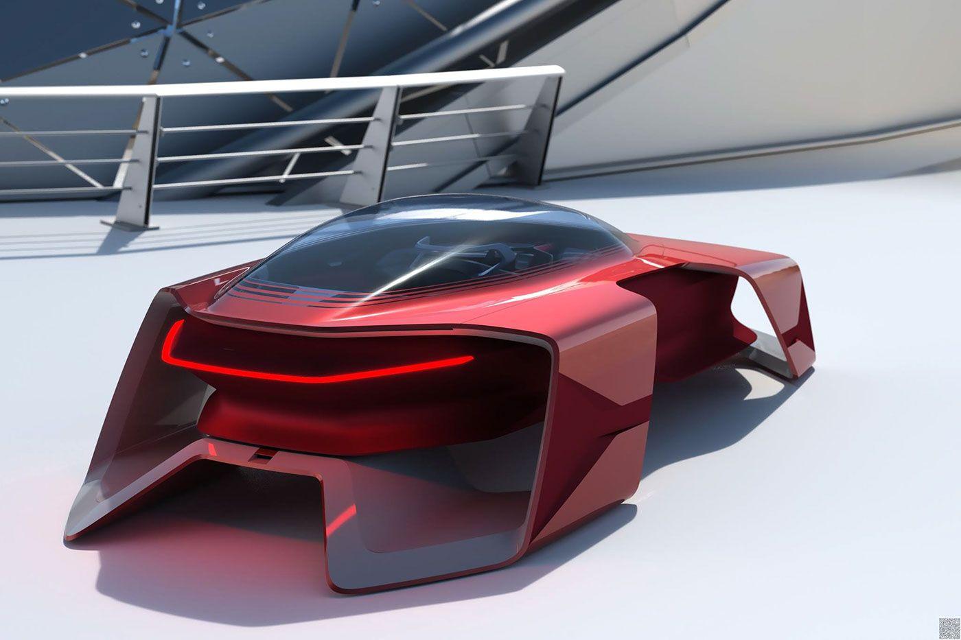 Dacia Ef Vision 2050 By Florina Cristina Enciu Motivezine Concept Car Design Concept Cars Dacia