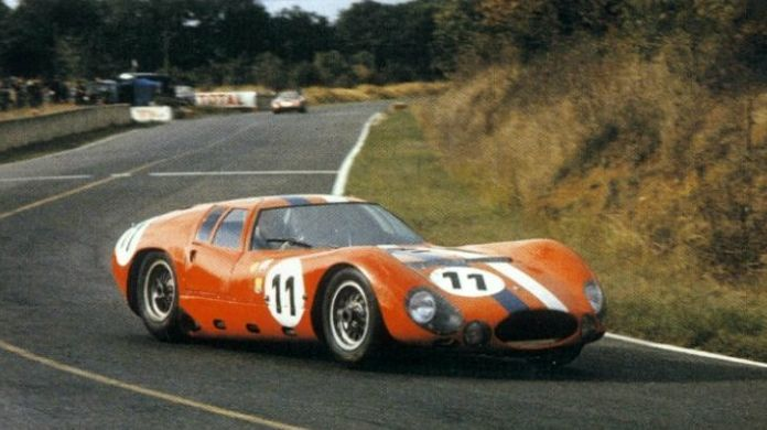 maserati tipo 151/3 at the 1964 le mans: | race cars cz.2a