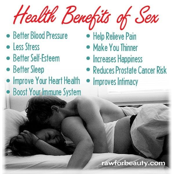 does sex keeps you healthy