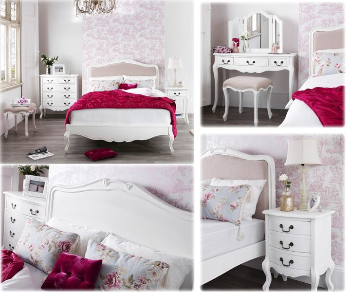 Shabby chic bedroom uk