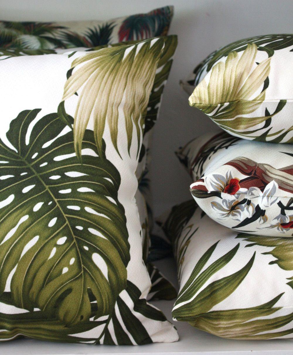 Tropical Cushions Bring Hawaiian Decor Home With Hot Trend