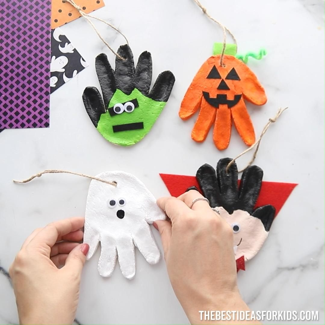 Halloween Salt Dough The Best Ideas For Kids Video Video Halloween Crafts For Kids Halloween Crafts Preschool Halloween Arts And Crafts