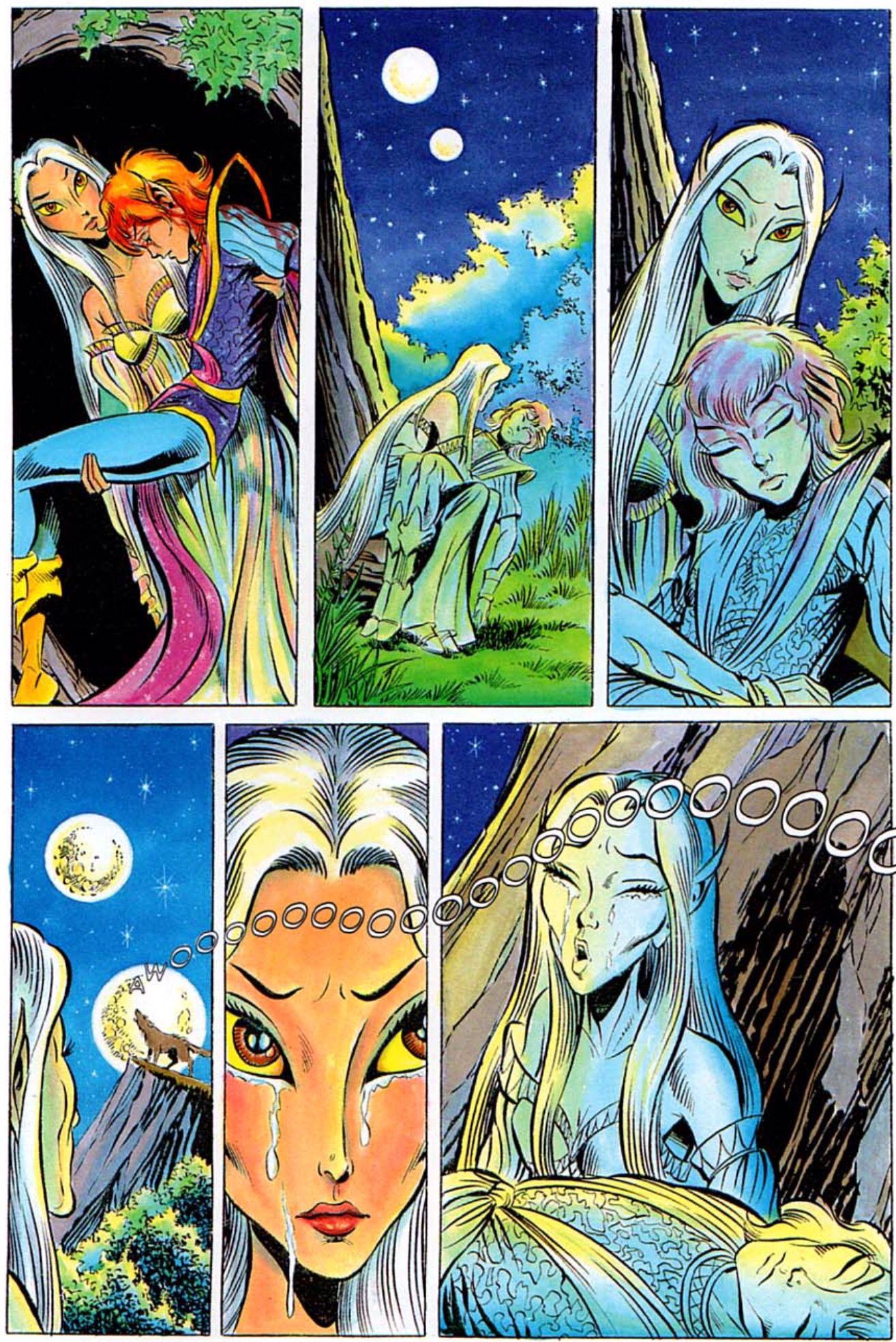 Timmain And Adya Elfquest One Of My Favorite Comic  Elf -5543