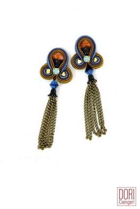 Ronah trendy tassel earrings  #DoriCsengeri #tassel #fringe #earrings #fashion #trend