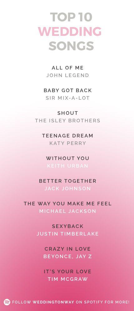 Top Hochzeitstag Lieder