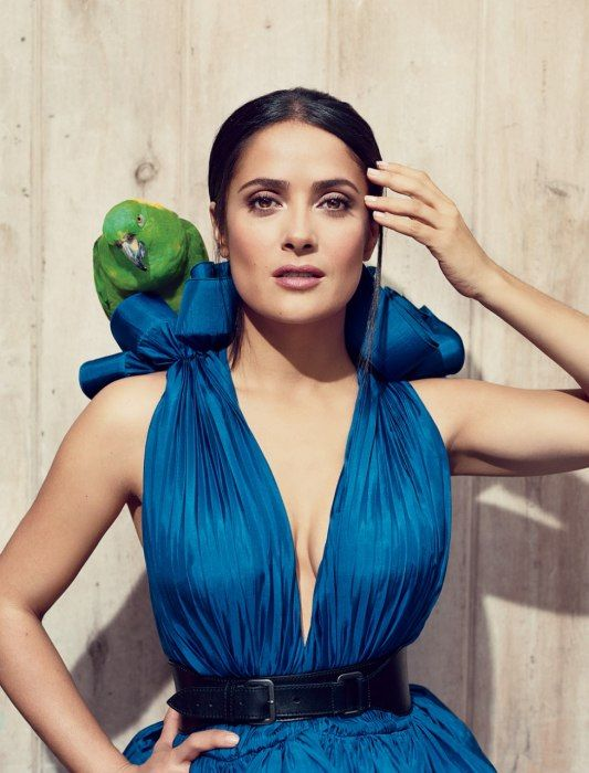 Salma Hayek, photographed by Norman Jean Roy, 2010. Love her. Más