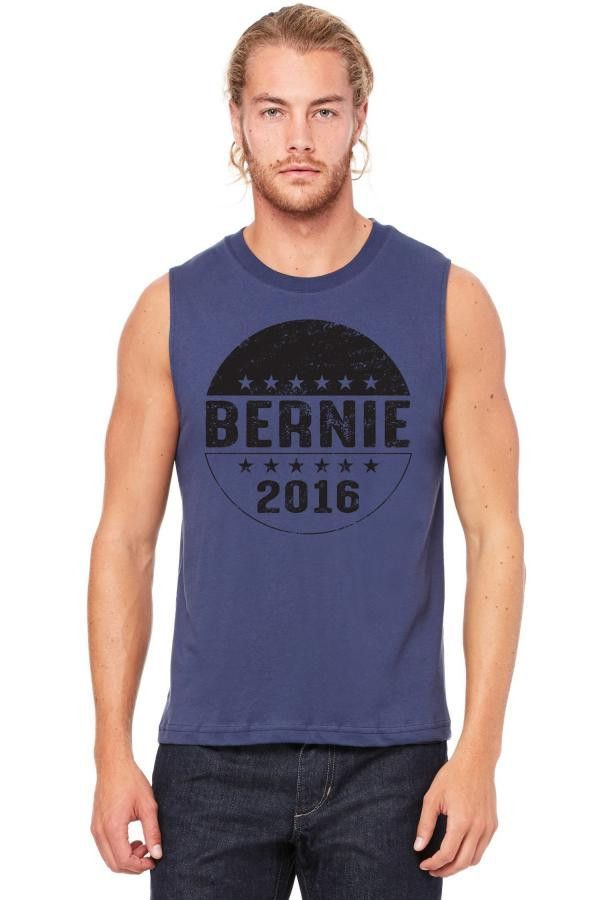 bernie 2016 Muscle Tank