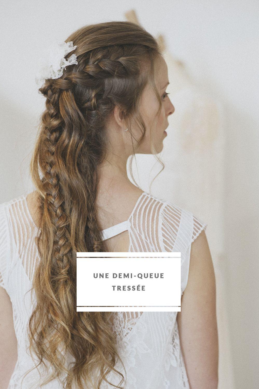 DiY : Demi-queue tressée | Diy hair, Hair inspiration and Hair style