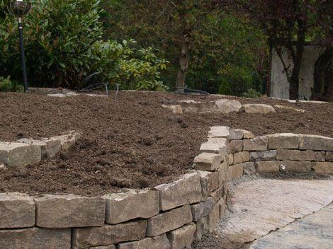 Trockenmauer Garten Pinterest Selber machen und Oder - wasserfall selber bauen