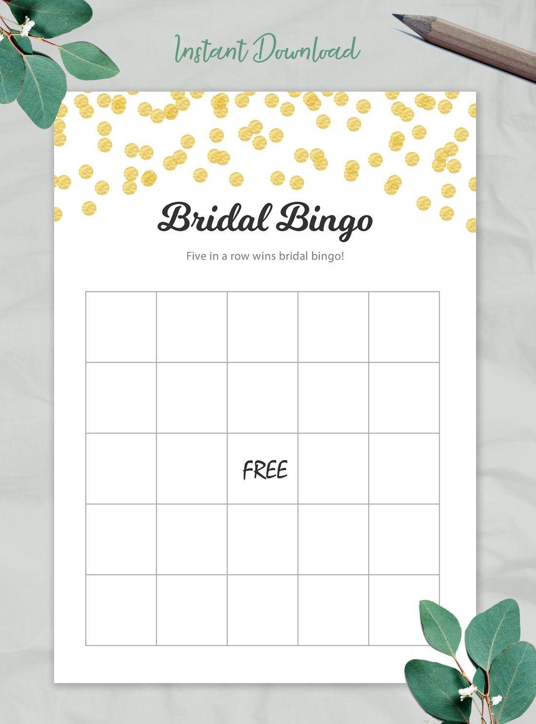 Blush Floral Printable Bridal Shower Bingo Chicfetti Printable Bridal Shower Bingo Bridal Shower Bingo Bridal Shower Cards