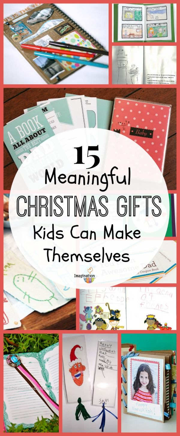 15 Meaningful Homemade Gifts Kids Can Make Homemade kids