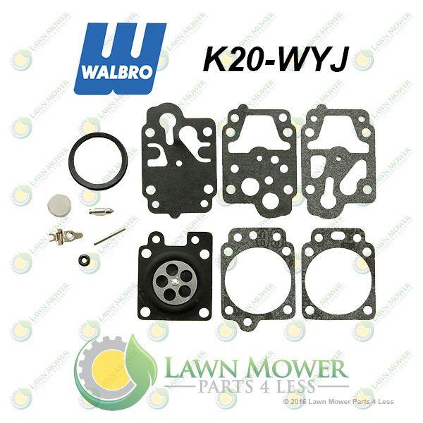 Genuine Walbro K20 Wyj Carburetor Repair Kit Fits Wyj Model