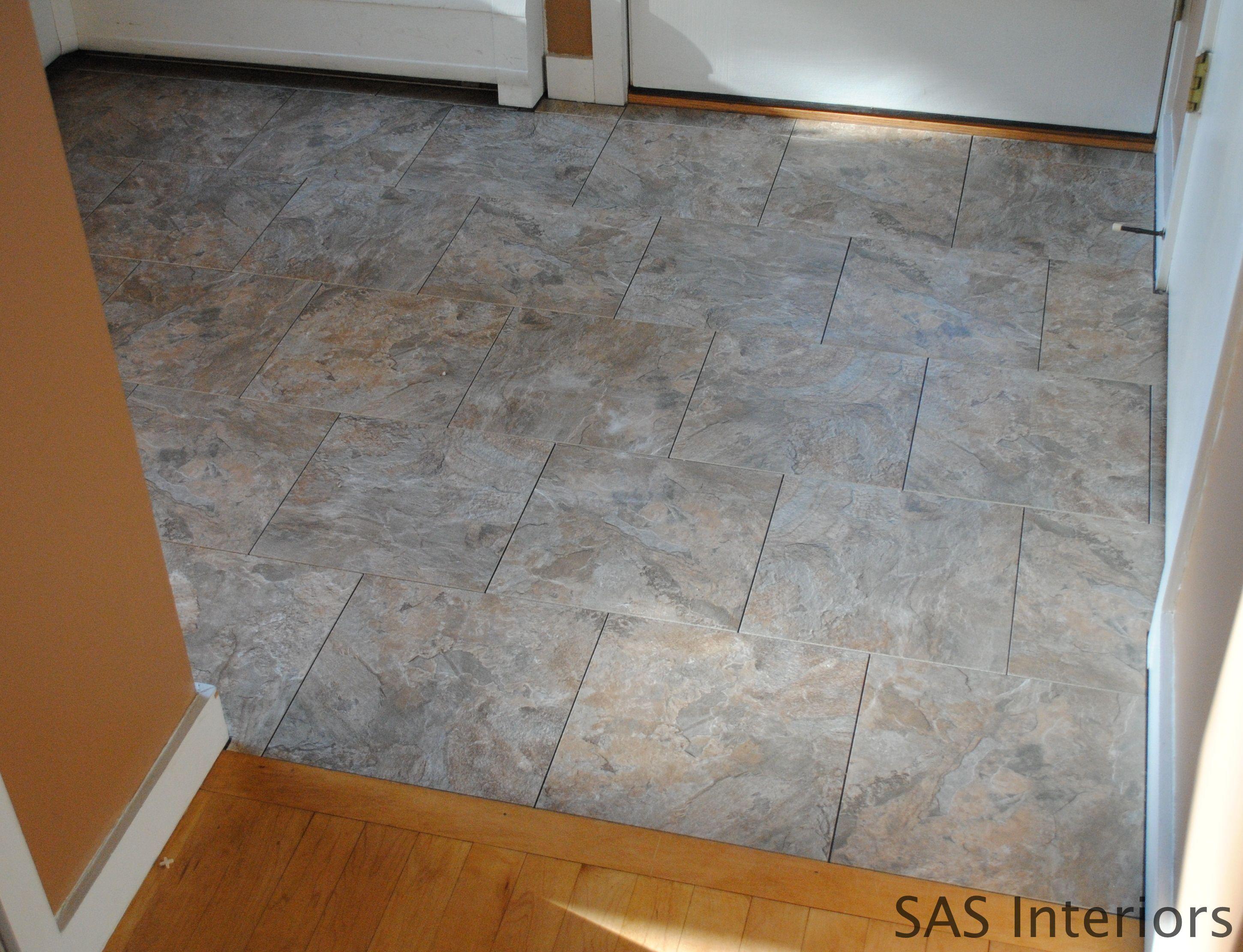 DIY: How to Install Groutable Vinyl Floor Tile | DIY | Pinterest ...