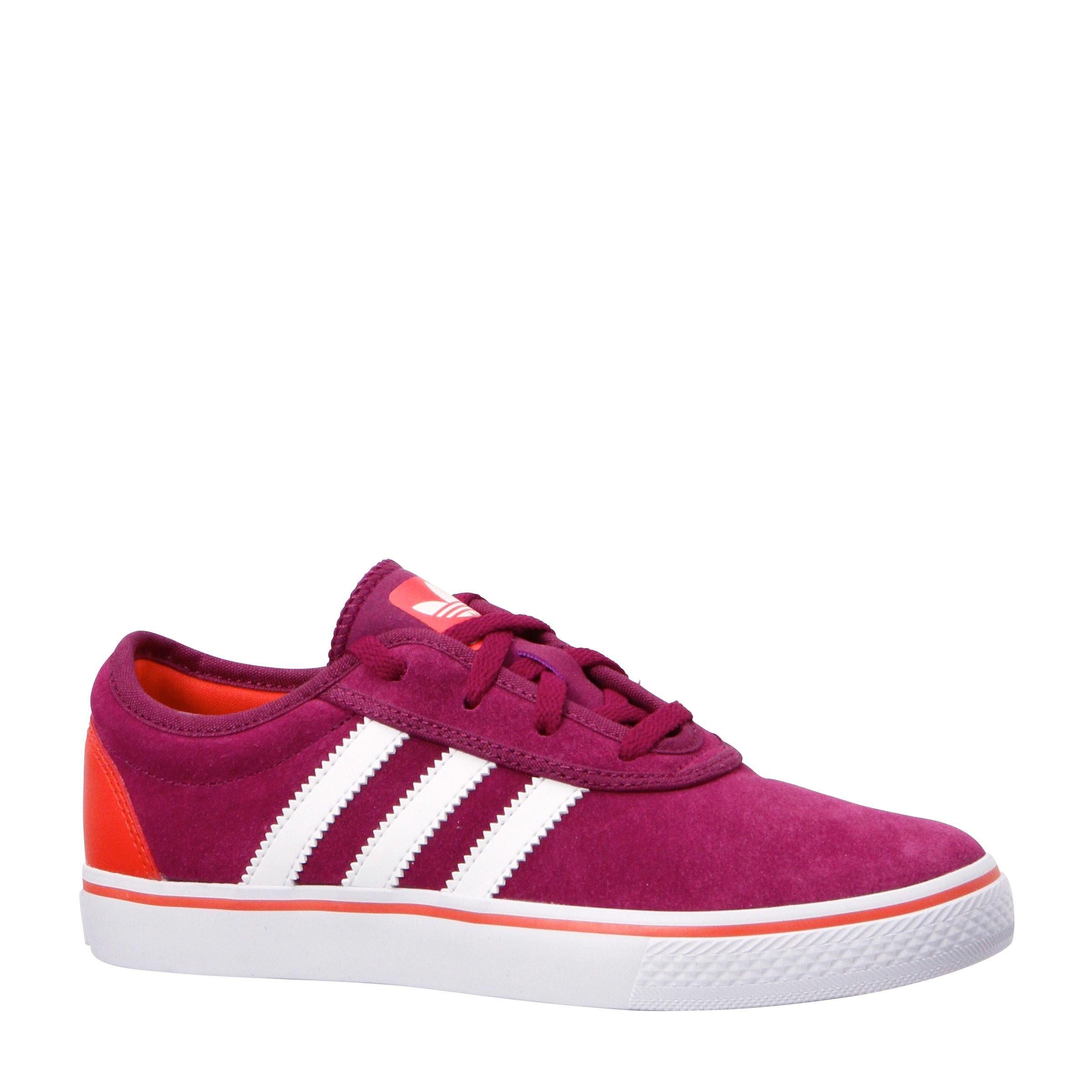 Hippe Adidas originals Sneakers Adi Ease (Paars/wit) Sneakers van het merk adidas originals voor Meisjes . Uitgevoerd in Paars/wit gemaakt van Suede rubber.