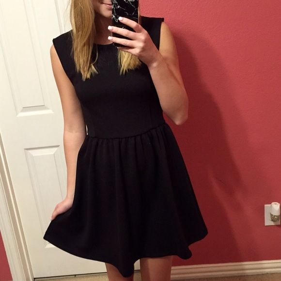 | Black Dress | Formal black dress with red accents (a little hard to see in photo, see close up) size small but will fit medium Frenchi Dresses
