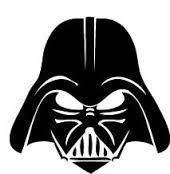 Darth Vader Stencil Template Google Search Star Wars Silhueta Darth Vader