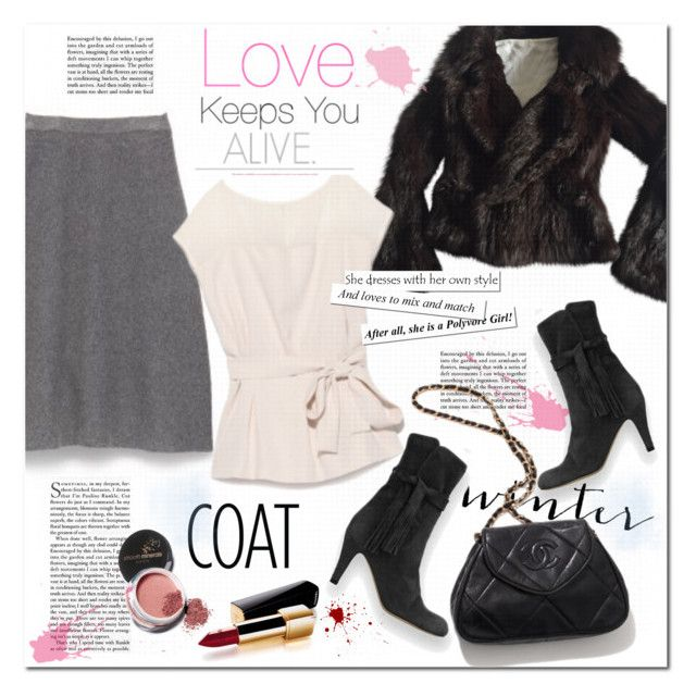 """""""Cropped Faux Fur Coats"""" by rosie305 ❤ liked on Polyvore featuring Sonia Rykiel, Chanel, Avon, women's clothing, women, female, woman, misses, juniors and croppedfauxfur"""