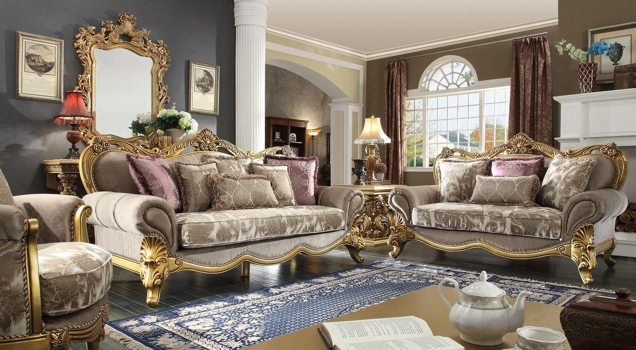 Homey Design Hd1634 3 Pcs Sofa Set  Sofa Set Living Room Sofa Mesmerizing Homey Design Living Room Sets Decorating Design