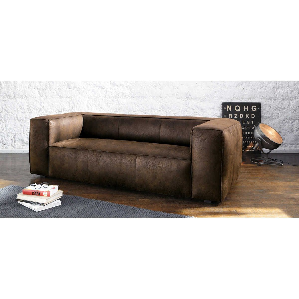 Table Lamps Sofa Leather Sofa Furniture