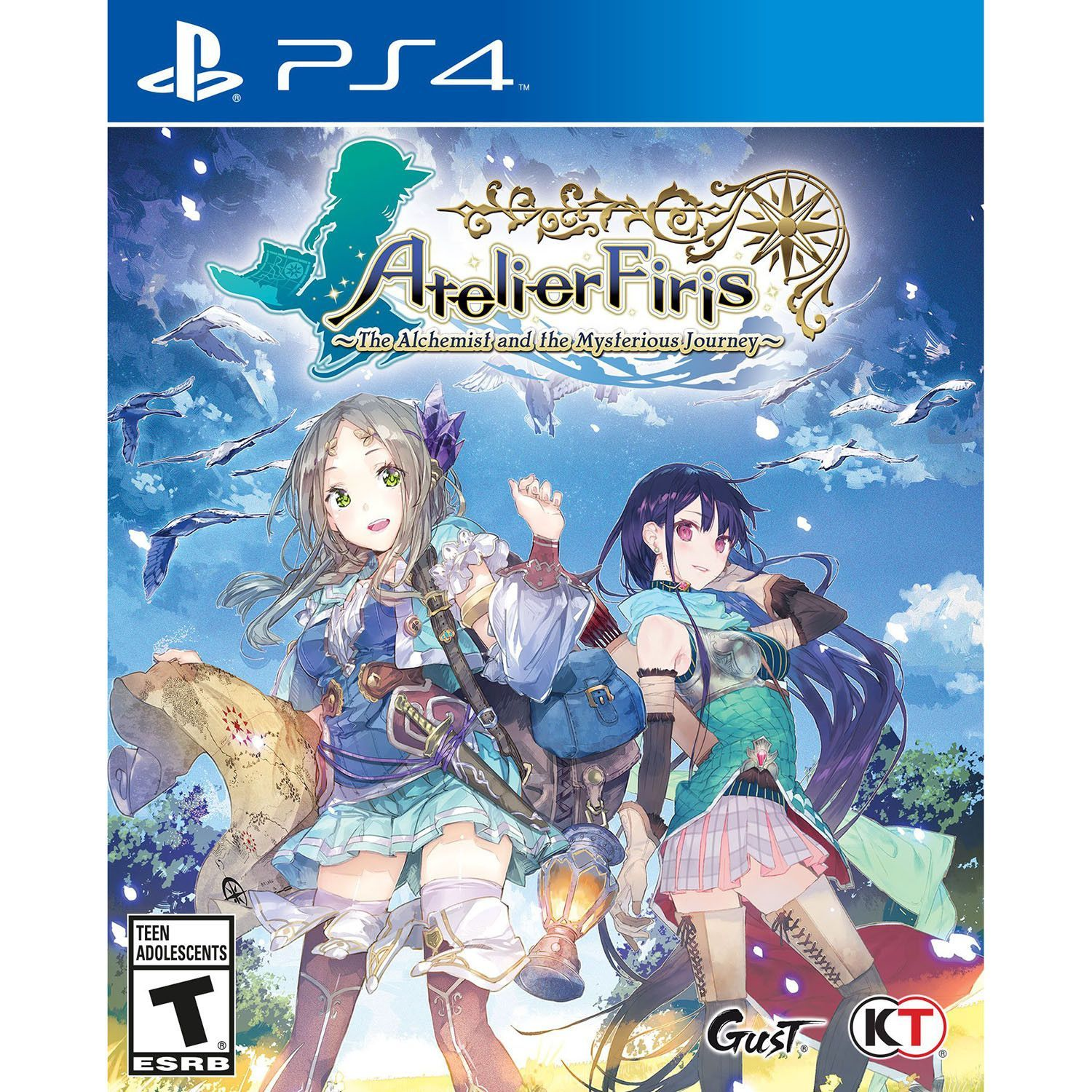 Kết quả hình ảnh cho Atelier Firis The Alchemist and the Mysterious Journey cover ps4