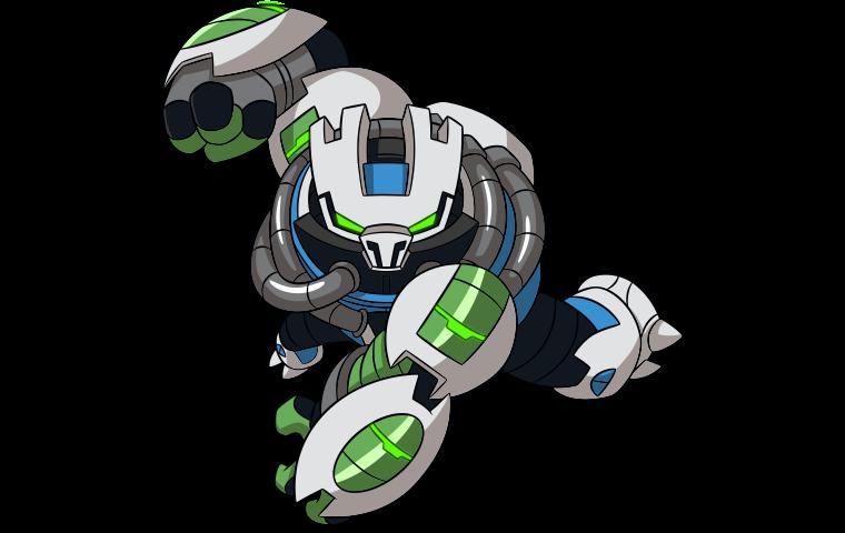 Duplicador Omni Kix Cartoon Network Ben 10 Heroe