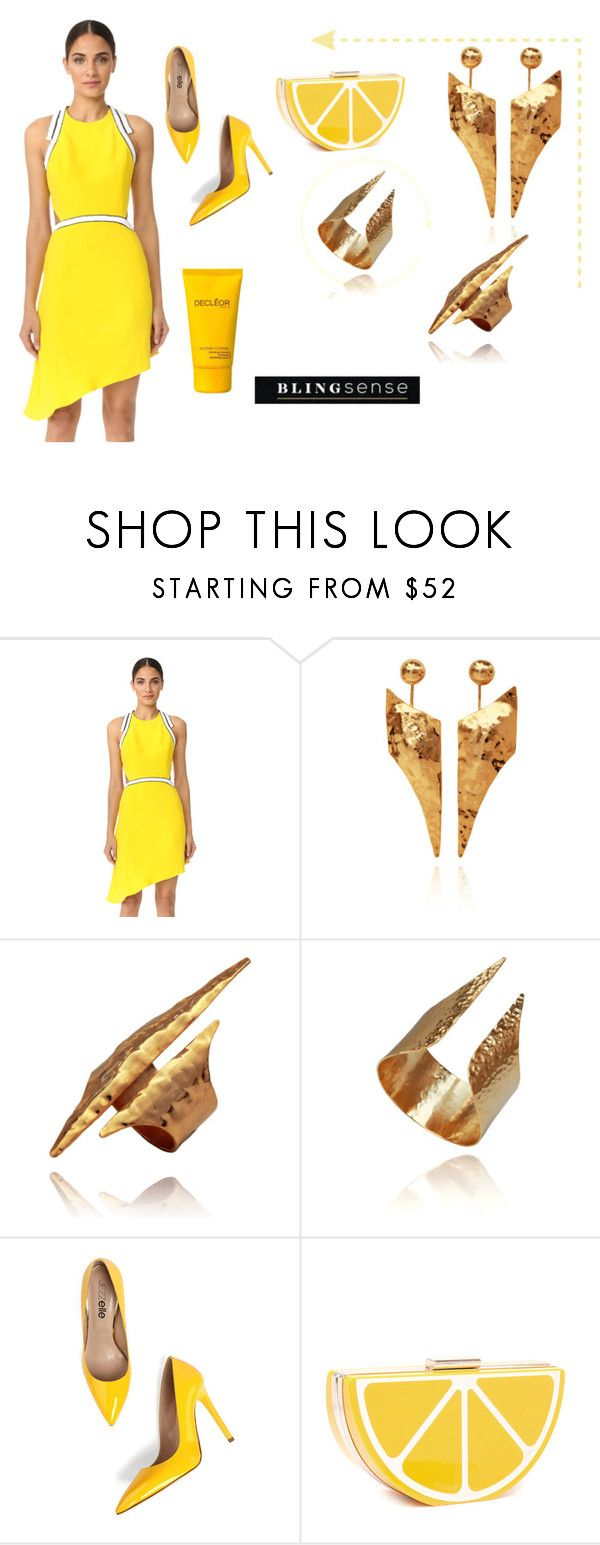 """""""& BlingSense & 5/I"""" by lightcoti on Polyvore featuring Thierry Mugler and Decléor"""