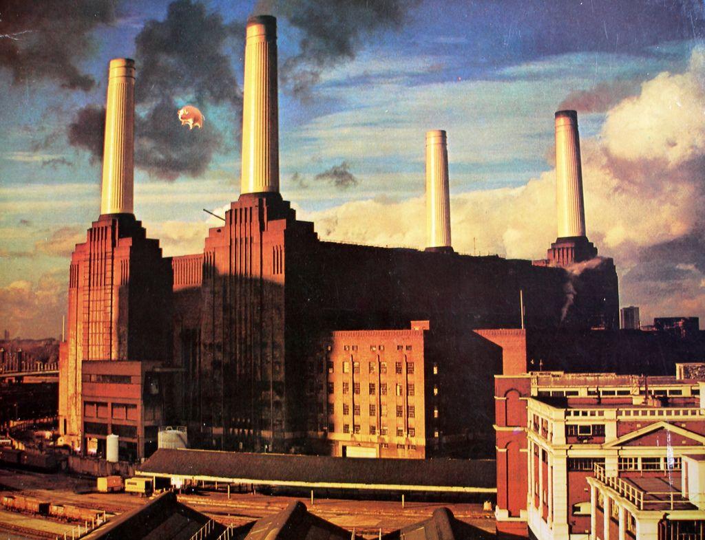 Pink floyd animals - Pink Floyd Animals 1977 Algie O Porco Infl Vel Criado Por Rob