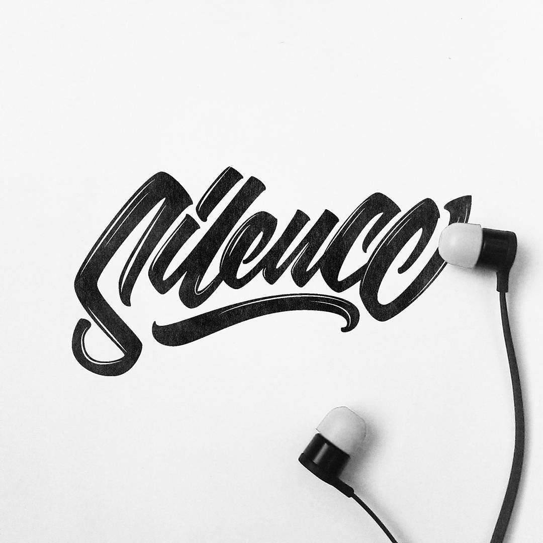 Beautiful letter flow in this work by @tnmzdesign | #typegang - typegang.com